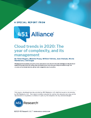 Cloud trends in 2020: The year of complexity, and its management