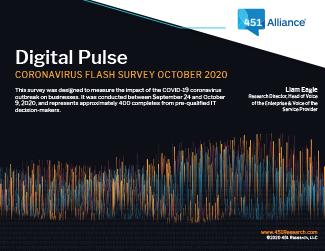Coronavirus Flash Survey October 2020