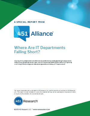 Where Are IT Departments Falling Short?