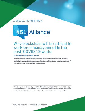 Why Blockchain will be Critical to Workforce Management in the Post-COVID-19 World