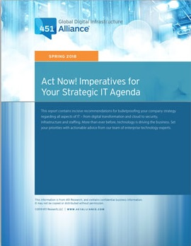 Act Now! Imperatives for Your Strategic IT Agenda