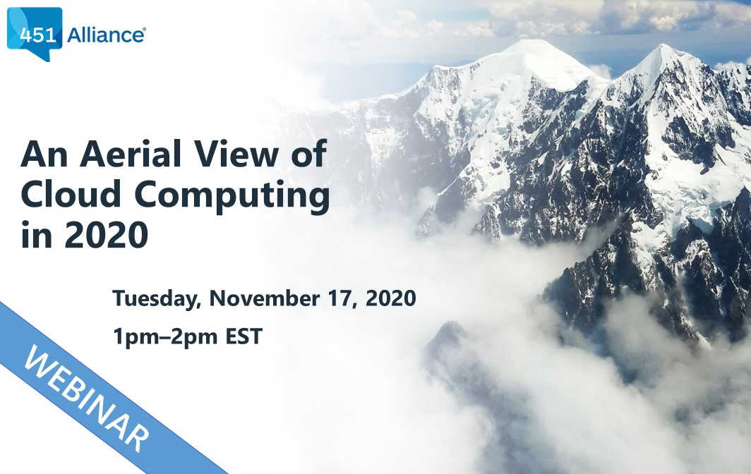 An Aerial View of Cloud Computing in 2020