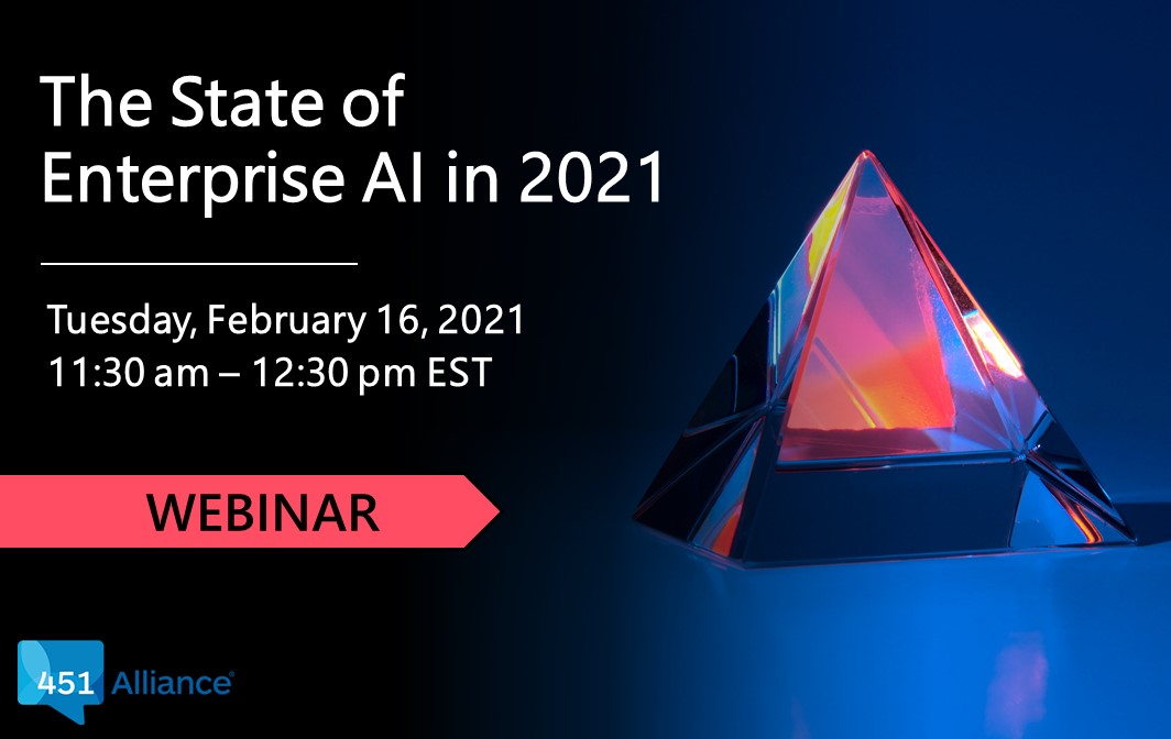 The State of Enterprise AI in 2021 class=